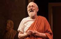 In John Mahoney's last show at Steppenwolf, intimations of mortality