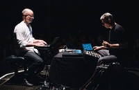 German improvisers bridge divides to produce viscerally abstract, powerful music