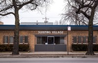 Behind Sleeping Village's unassuming exterior lurks a state-of-the-art sound system