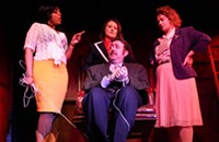 Three women fight back against sexual harassment&mdash;1970s style&mdash;in <i>9 to 5 the Musical.</i>