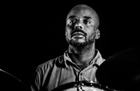 Drummer Chad Taylor, a quintessential ensemble player, creates atmosphere and color on his solo debut