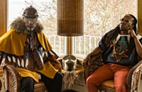 Seattle hip-hop duo Shabazz Palaces create their own norms on their two <i>Quazarz</i> albums