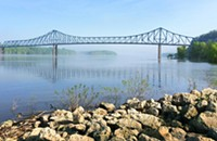 Leave the flatlands behind in Savanna and Galena, along the bluffs of the mighty Mississippi