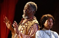 In <i>The African Company Presents Richard III</i>, black performers wear, and then drop, the mask