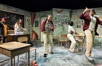 In Nilaja Sun's <i>No Child&nbsp;&#8230;&nbsp;</i> a teacher and her students discover the magic of theater