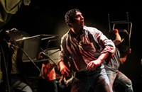 Mexican theater company Los Colochos' <i>Mendoza</i> presents a visceral, blood-soaked tale of ambition and corruption
