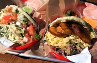 Arepas are stuffed your way at Lincoln Square's Sweet Pepper