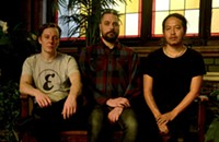 Dave Rempis teams up with Tashi Dorji and Tyler Damon in Kuzu, a new improvising trio