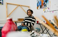 Meet Nikko Washington, the painter and ace bowler in the Save Money collective.