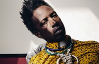 Multimedia genius Saul Williams returns with the electronic-flavored new <i>Encrypted & Vulnerable</i>