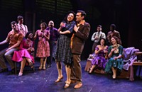 Hollis Resnik is big, but the score stays small in Porchlight's <i>Sunset Boulevard</i>