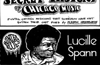 Blues singer Lucille Spann earned a share of her famous husband's spotlight