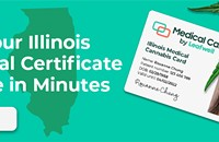 'Medical Cannabis Cards Available through Telemedicine in Illinois and Many Other states'