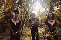 Ghetto Kumbé create pulsing Afrofuturistic grooves that build on the beats of Colombia's Pacific coast