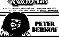 Peter Berkow has spent five decades traversing at least that many genres