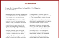 It was all a Dream / I Used to Read <i>Word Up!</i> Magazine