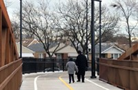 How ancient Jewish religious law influenced the design of a bike bridge in West Rogers Park