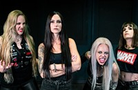 Brazilian thrashers Nervosa reemerge with a powerful multinational lineup