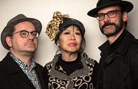Aki Takase, Christian Weber, and Michael Griener advance the language of piano jazz with a collective approach