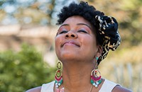 Monique Golding, vocalist for Mosaic Soul and the Black Monument Ensemble