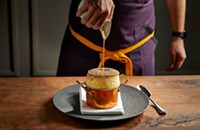 A must-order: The Grand Marnier Soufflé at Venteux