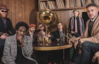 The Lowdown Brass Band celebrate their new collection with a real-live show