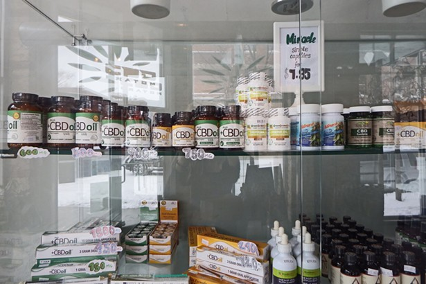 Why are CBD products sold over the counter some places and