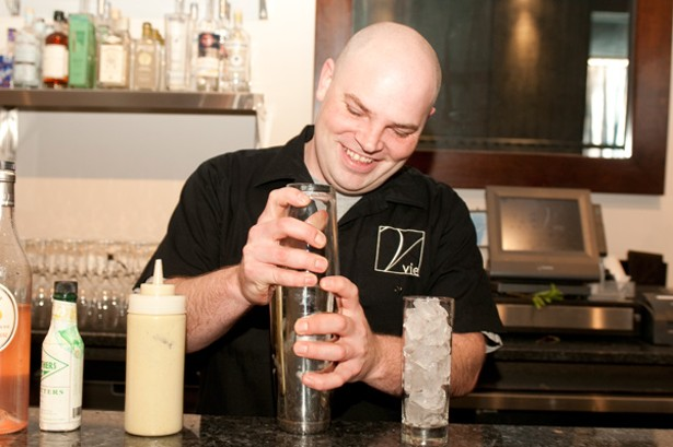 Vie's Mike Page makes the Ecto Shrub
