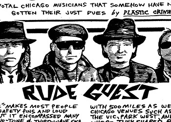 Chicago's Rude Guest bridged two-tone and third-wave ska in the 80s