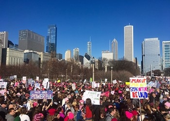 The women's marches showed America at its best