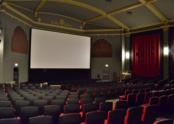 The newly renovated Davis Theater is a vaudeville house for the 21st century