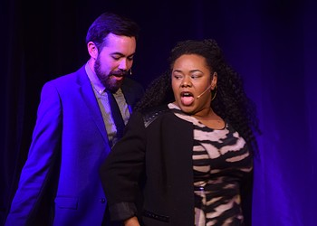 The improv games at iO's Riff turn into a goofy, full-fledged sing-along