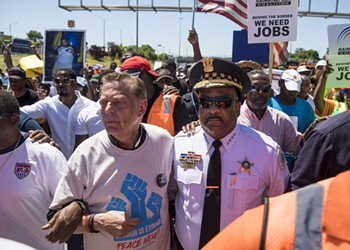 Father Pfleger, top cop Johnson, and a tinge of hope for the city's future