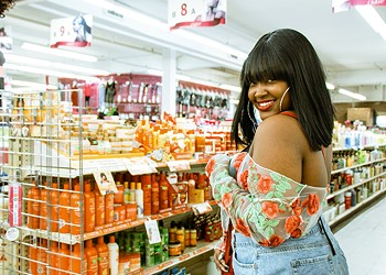 Cupcakke stays fly on a budget at the beauty supply in her old hood