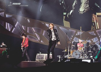 Following Mick's heart-valve surgery, the Rolling Stones kick off a U.S. tour in Chicago