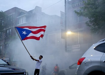 Puerto Rican flags fly high in June