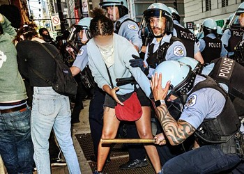 Most of the people arrested at the protests were Black
