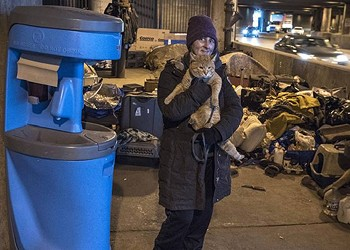 Escalating violence and lack of police response put the city's homeless even more at risk