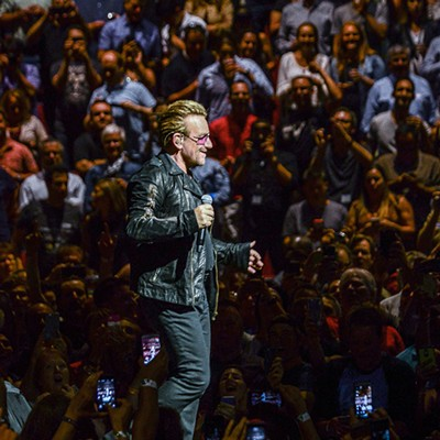 u2 at the United Center June 24th, 2015