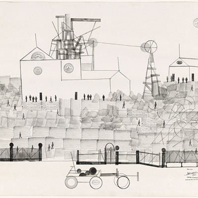 """Along the Lines: Selected Drawings by Saul Steinberg"