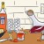 Build your own Chicago bar cart