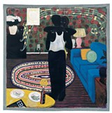 Kerry James Marshall, Slow Dance (1992–'93) - COURTESY THE DAVID AND ALFRED SMART MUSEUM OF ART, THE UNIVERSITY OF CHICAGO