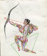 Don Tonry, Archer, 1952 - COURTESY OF THE KINSEY INSTITUTE FOR RESEARCH IN SEX, GENDER, AND REPRODUCTION