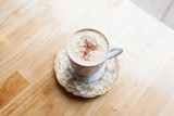 The cafe's whole reason for being is masala chai. - DANIELLE A. SCRUGGS