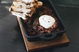 Ropa vieja with goat cheese is a powerhouse of a starter - DANIELLE A. SCRUGGS