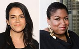 Abbi Jacobson and Samantha Irby