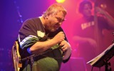 Daniel Johnston with Jeff Tweedy and friends