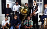 Rebirth Brass Band, New Orleans Suspects, DeRobert & the Half-Truths