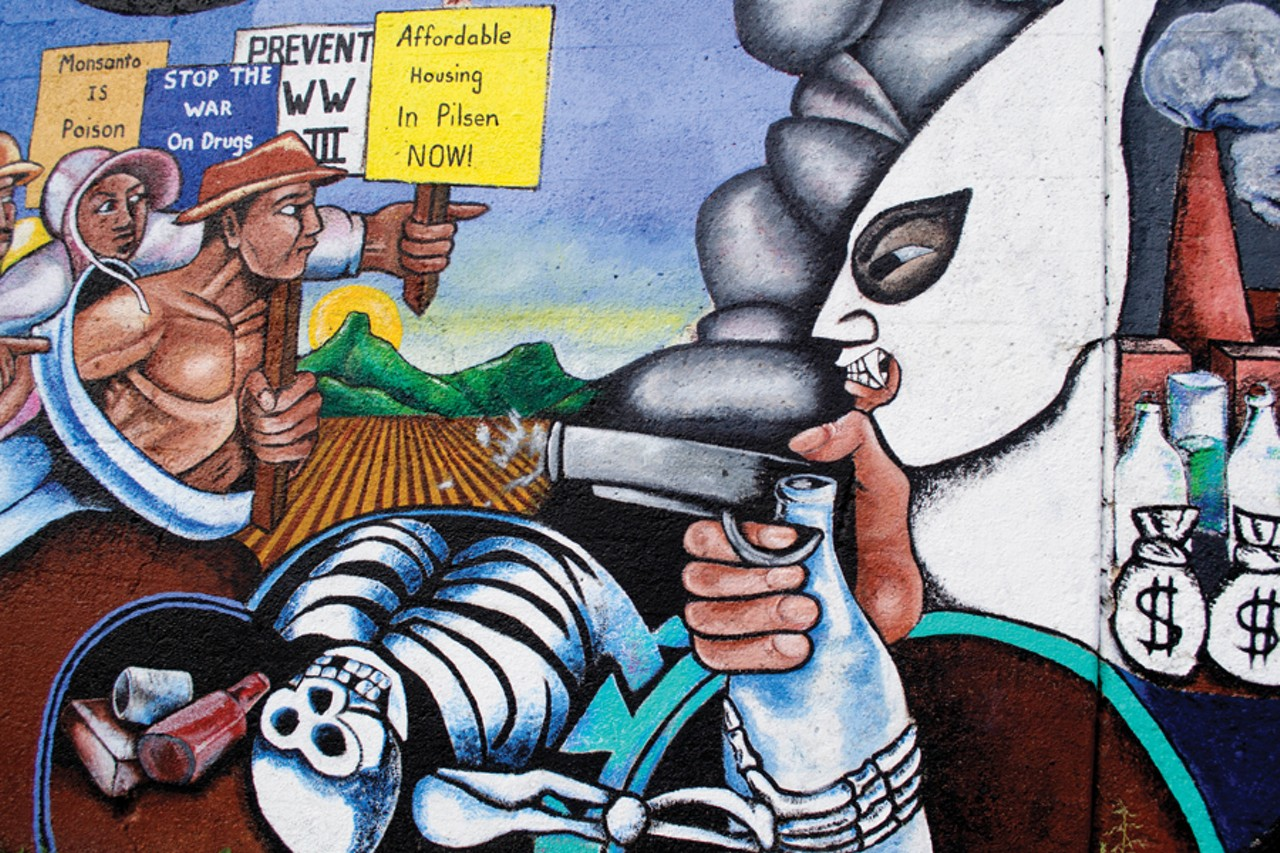 A major mural in pilsen gets a few more years in the sun for Chinatown mural chicago