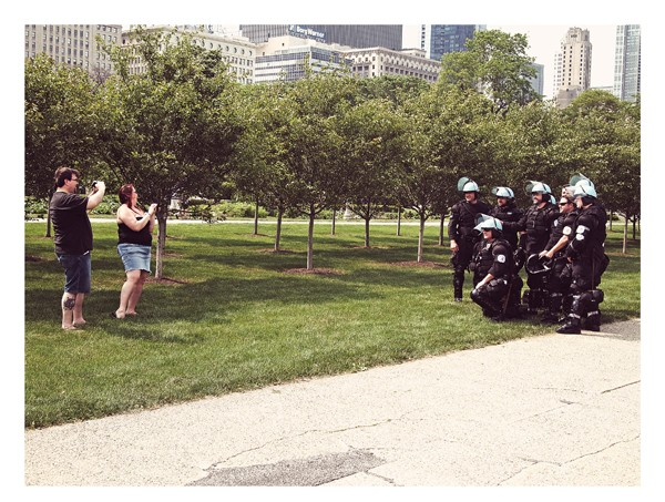 Untitled. Across the street from Buckingham Fountain, May. By Matthew Duff, 31, private dancer, Logan Square - MATTHEW DUFF